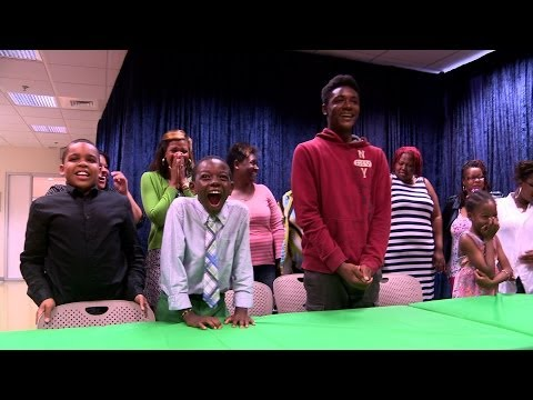 Raw Video: The President Talks With Young Asthma Patients