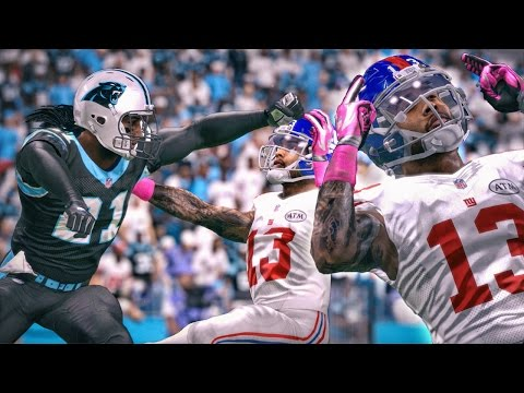 FIGHTING WITH ODELL BECKHAM! INSANE GAME! Madden 16 Career Mode Gameplay Ep. 27