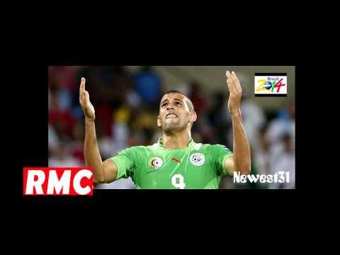 Algérie Mondial 2014 : islam Slimani Sur Moscato Show RMC