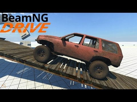 beamng drive alpha 1994 jeep grand cherokee trail ready car crushing mod hd phim video clip. Black Bedroom Furniture Sets. Home Design Ideas