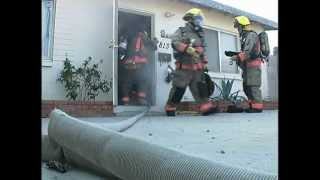 Training To Rescue Downed Firefighters