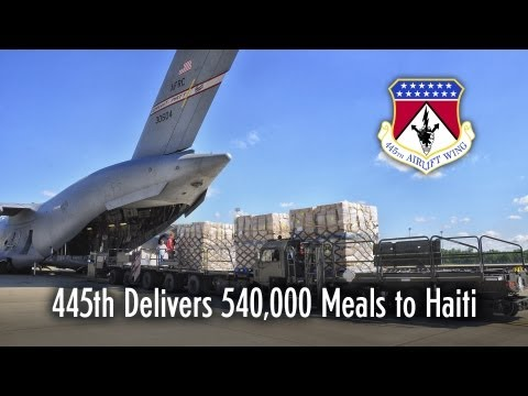 445th Airlift Wing: Haiti Mission
