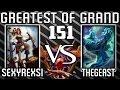 Smite Greatest of GrandMasters 151 Neith vs He Bo