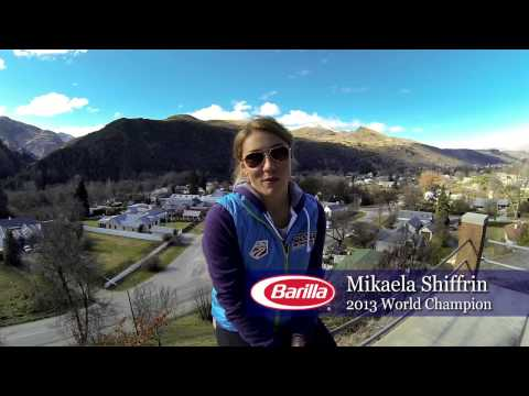 Mikaela Shiffrin in New Zealand (Barilla Share the Table)