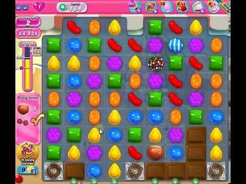 How to beat Candy Crush Saga Level 164 - 2 Stars - No Boosters - 96