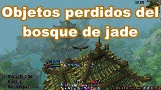 Logros Pandaria#46 Objetos Perdidos Del Bosque De Jade