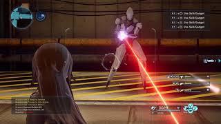 Sword Art Online: Fatal Bullet - Játékmenet Videó