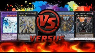Yugioh DevPro Tag Duel - HERO & Constellars Vs Gimmick Puppet & Gishki
