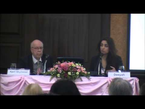 12th Urban Culture Forum, Bangkok: Deeyah and Kjell Skyllstad in Dialogue