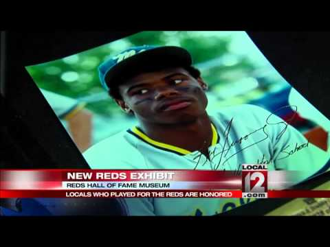 Locals who played for the Cincinnati Reds are honored