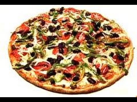 Pizza vegetariana con harina integral. Vegetarian pizza recipe with wholewheat flour. Ecodaisy