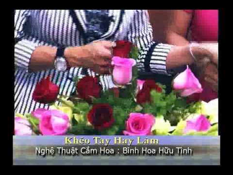 VNTV Flowers Arrangements -  Bình Hoa Hữu Tình VNTV