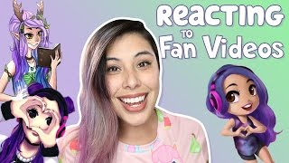 REACTING TO FAN MADE VIDEOS!!