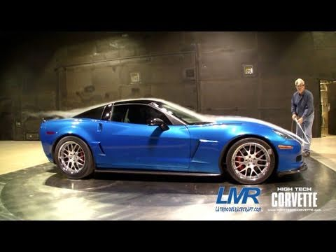 LMR twin turbo Corvette - GM's Wind Tunnel