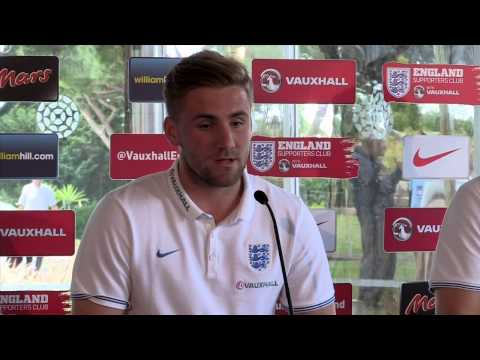 "Luke Shaw : ""No point going to WC if we're not going out to win it."""