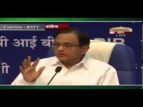 Post Interim Budget Press Conference by Finance Minister Shri P.Chidambaram