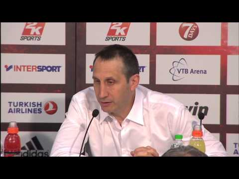 Coach David Blatt press conference after the Championship Game