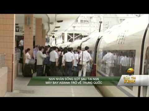 Nạn nhân sống sót sau tai nạn máy bay Asiana trở về Trung Quốc
