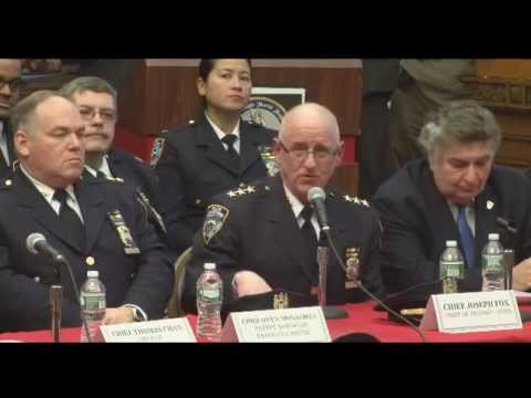 One Brooklyn-- NYPD Commissioner William J. Bratton meet and greet at Borough Hall