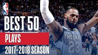 Best 50 Plays of the 2018 NBA Regular Season