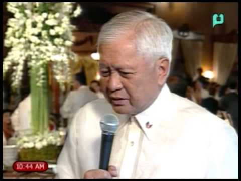 New Year Vin D' Honneur: Interview of DFA Sec. Albert Del Rosario [Jan. 10, 2014]