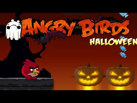 Angry Birds Halloween Adventure Walkthrough Gameplay, Angry Birds Halloween Adventure Walkthrough Gameplay