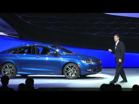 2015 Chrysler 200 Reveal Highlights