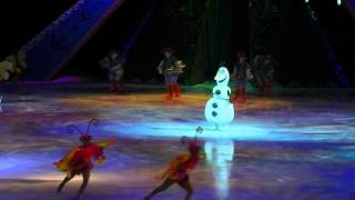 Olaf Sings In Summer During Disney On Ice Presents Frozen