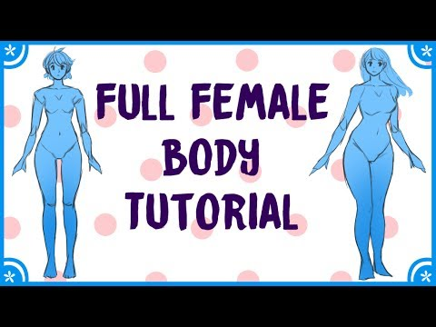 How to Draw Manga: Female Body Tutorial (Simple)