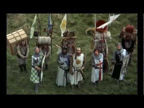 Monty Python - Holy Grail French Taunting