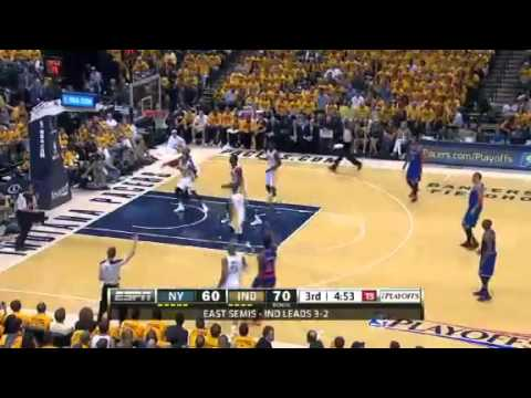 New York Knicks Vs Indiana Pacers - NBA Playoffs 2013 Game 6 - Full Highlights 5/18/13