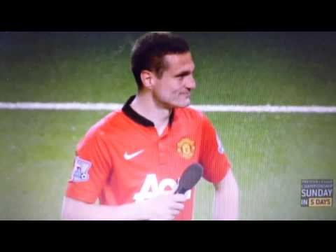 Nemanja Vidic Farewell Speech | Manchester United vs Hull 3-1 | 06/05/14