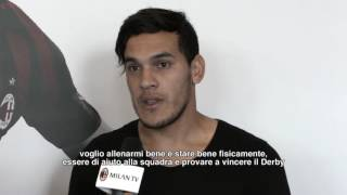 Gustavo Gomez: a first taste of Milan