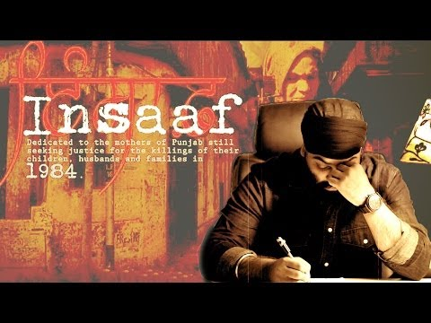 Insaaf - Chani Natt | A song dedicated to the victims of 1984 massacre