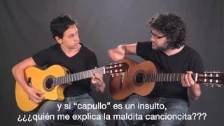Qué difícil es hablar el español (con subtítulos en español)