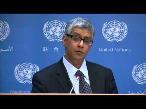 UN Ban's Deputy Spox Passes Buck on Sri Lanka Crackdown- But Monitors for Restrictions in Ukraine