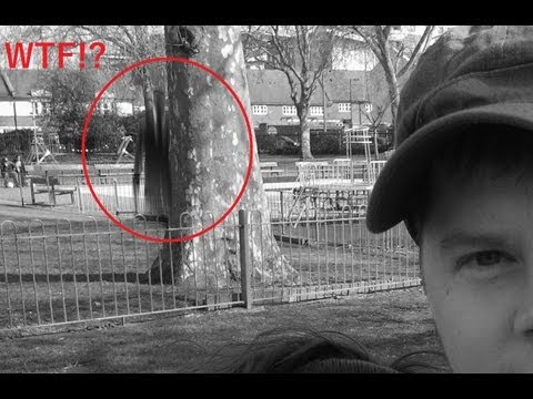 UNEXPLAINED | Real Creepy Sighting Footage Captured in Live Action Slenderman Movie | Ghost Sighting