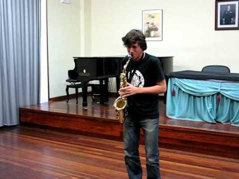 Aula Galega de Saxofón – Estudio Nº 36 de W. Ferling