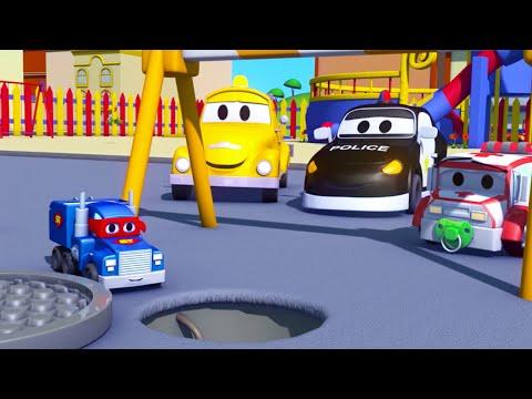 Minináklaďák - Karol Supernáklaďák v meste áut