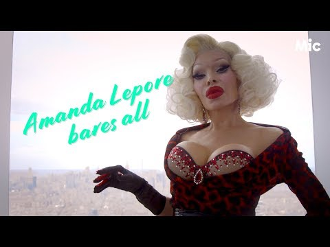Why Amanda Lepore started going to clubs naked