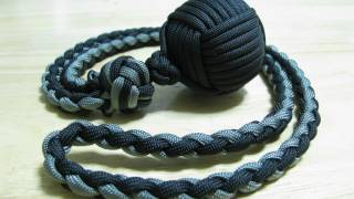Paracordist: Monkey's Fist Self Defense Lanyard How To