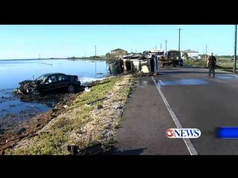 Corpus Christi TX~Texting and Driving Causes Accident in Flour Bluff
