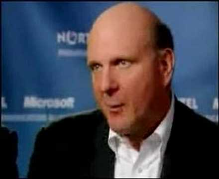 Thumbnail of video Ballmer Laughs at iPhone