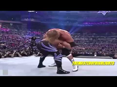 Shawn Michaels VS Chris Benoit VS Triple H Wrestlemania 20 Highlights [HD]