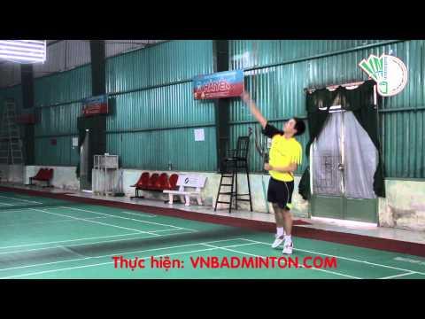 Ky Thuat Cau Long Co Ban VNBadminton Treo Cau Hoang Hai Phuong Nam