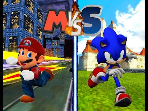Mario Vs Sonic: MB/SR - Extended Edition