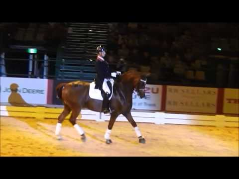 Carl Hester Equitana Freestyle Dem Equitana Sydney 2013