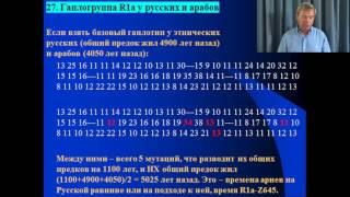 """""""Практический курс ДНК-генеалогия"""" - лекция 16"""