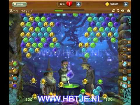 Bubble Witch Saga level 77