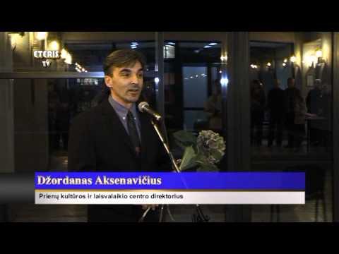 ETERIS TV 2013.11.13 Prienuose atidaryta pirmoji Sigitos Paužaitės darbų paroda